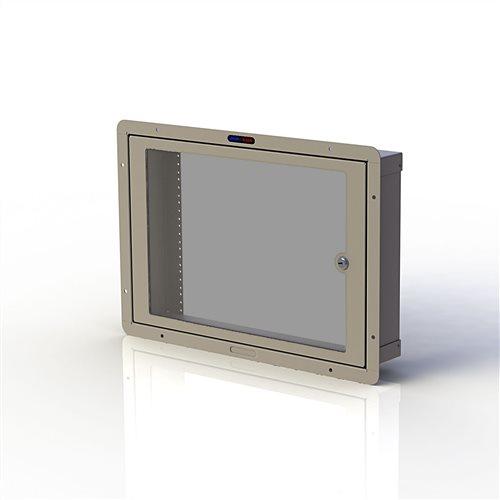 RWB Cavity Wall Box 1032 with Door 8U Cream RWB-1032-08UCM