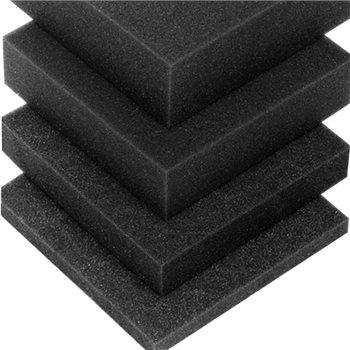 Penn Elcom Foam - Black  2400mm x 1200mm x 10mm M63810  - Click to view a larger image