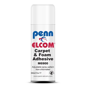 Penn Elcom Adhesive Spray 500ml Can M6900  - Click to view a larger image