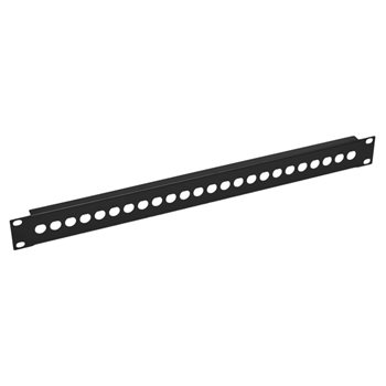 Penn Elcom 1U Rack Panel Punched For 24 x BNC R1280/1UK/24  - Click to view a larger image
