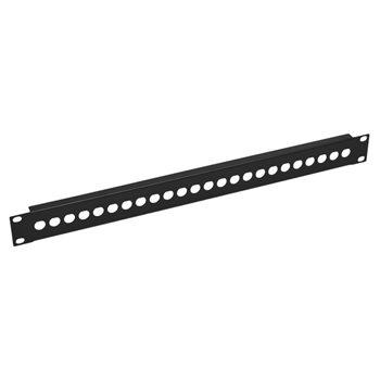 Penn Elcom 1U Rack Panel Punched For 24 x BNC R1280/1UK/24  - Cliquez pour agrandir limage