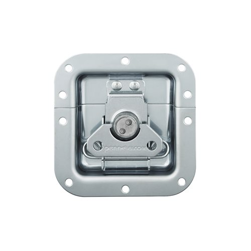 Penn Elcom Medium Recessed Butterfly Latch Very Shallow L905/915/07  - Click to view a larger image