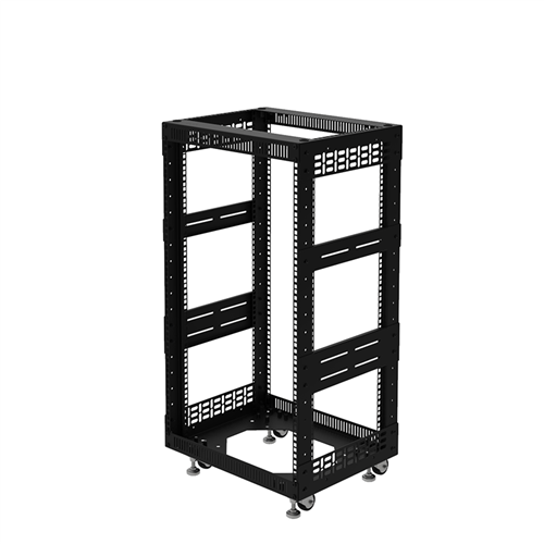 """Penn Elcom 18U Open Tower Rack System 400mm / 16"""" Deep R8200-16/18UK  - Click to view a larger image"""