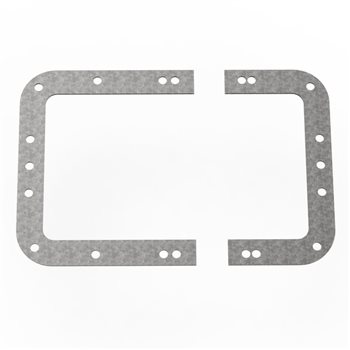 Penn Elcom Backplate for Large Recessed Latches L0526  - Click to view a larger image
