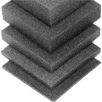 Penn Elcom Plaque de Mousse Rigide Polyéthylene 2743mm x 610mm x 25mm M62925  - Cliquez pour agrandir limage