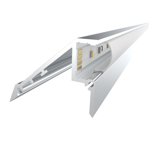 Penn Elcom 1m Kit 12.2mm Stair Light Aluminium Profile LEDAL02  - Click to view a larger image