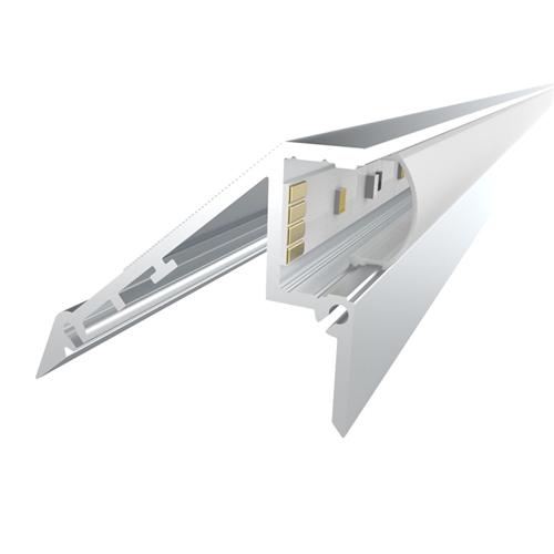 Comus 1M LEDAL02 KIT for 12.2mm Stair Light Aluminium Profile LEDAL02  - Click to view a larger image