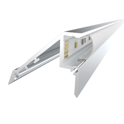 Penn Elcom 2m Kit 12.2mm Stair Light Aluminium Profile LEDAL02M2  - Click to view a larger image