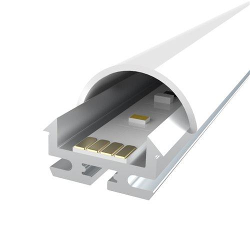Comus 2M LEDAL04 KIT for 13.1mm Aluminium Profile LEDAL04M2  - Click to view a larger image