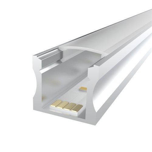 Penn Elcom 2M LEDAL15 KIT for 15mm Deep Aluminium Profile LEDAL15M2  - Click to view a larger image