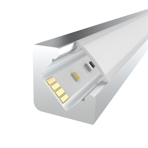 Penn Elcom 2m kit 12.2mm Corner Aluminium Profile LEDAL22M2  - Click to view a larger image