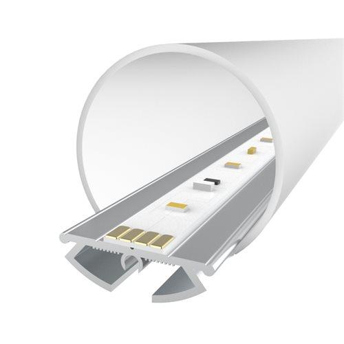 Comus 2M LEDAL09 KIT for 21mm Ceiling Light Aluminium Profile LEDAL09M2  - Click to view a larger image