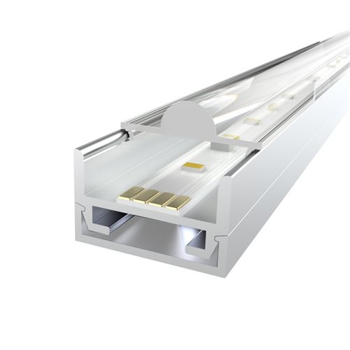 Penn Elcom 2M LEDAL16 KIT for 16.8mm Ceiling Aluminium Profile LEDAL16M2  - Click to view a larger image