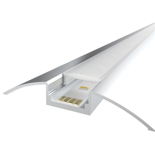 Penn Elcom 1M LEDAL17 KIT for 12.3mm Cabinet Aluminium Profile LEDAL17  - Click to view a larger image