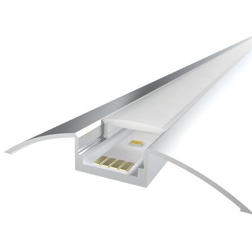 Comus 1M LEDAL17 KIT for 12.3mm Cabinet Aluminium Profile LEDAL17  - Click to view a larger image