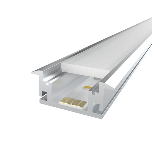 Comus 1M LEDAL18 KIT for 12.1mm Floor Aluminium Profile LEDAL18  - Click to view a larger image