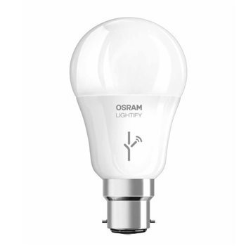 Osram LIGHTIFY Classic A60 RGBW 10W BC Dim 4052899325623  - Click to view a larger image