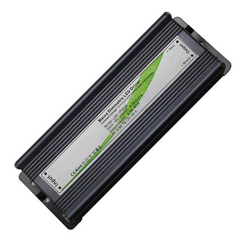 Teucer 60 watt Mains Dimmable constant voltage LED driver 24V IP67 LDD-IP60/24  - Click to view a larger image