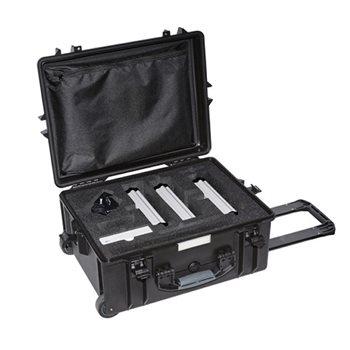 Neutrik Hard case fully equipped, NXP2TX-E, 2 x NXP2RX-E, NXP-TM-ANA-E, NXP-RM-ANA-E, NXP-RM-RP-E, NXPA-6-36 CAS-NXP-BASIC-E  - Click to view a larger image
