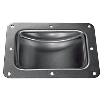 "Penn Elcom Castor Dish for 125mm / 5"" Castors Black W0962K  - Click to view a larger image"