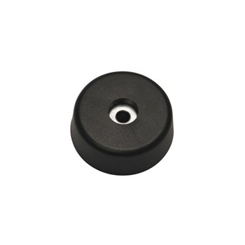 Penn Elcom Tapered Rubber Foot WIth Steel Washer 37.8mm x 13.8mm F1554  - Click to view a larger image