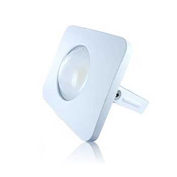 Integral White Compact-Tough Floodlight  30W 4000K IP65 Non Dim ILFLB007  - Click to view a larger image