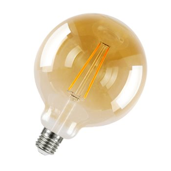 Integral Sunset Vintage Globe 125mm 40 300Deg Filament-style 2.5W 1800K ES Non Dim 46-80-11  - Click to view a larger image