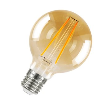 Integral Sunset Vintage Globe 80mm 40 300Deg Filament-style 2.5W 1800K ES Non Dim 82-13-56  - Click to view a larger image