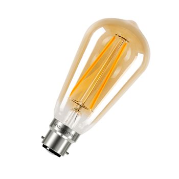 Integral Sunset Vintage ST64 40 300Deg Filament-style 2.5W 1800K BC Non Dim 20-17-47  - Click to view a larger image