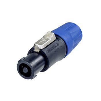 Neutrik SpeakON 4 Pole Plug Cable 7-15mm Disassembled NL4FC-D  - Click to view a larger image