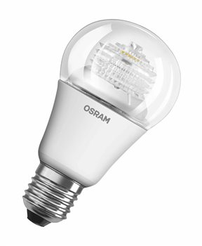 Osram Classic A Adv Clear 60 9W/827 E27 Dimmable Parathom 4052899299252  - Click to view a larger image