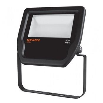 LEDVANCE Black LED Floodlight  20W 3000K IP65 Non Dim 4058075001060  - Click to view a larger image