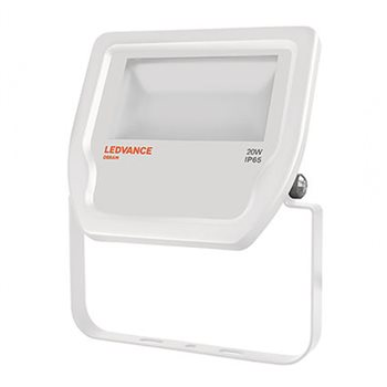 LEDVANCE White LED Floodlight  20W 3000K IP65 Non Dim 4058075001084  - Click to view a larger image