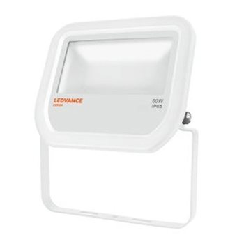 LEDVANCE White LED Floodlight  50W 3000K IP65 Non Dim 4058075001145  - Click to view a larger image