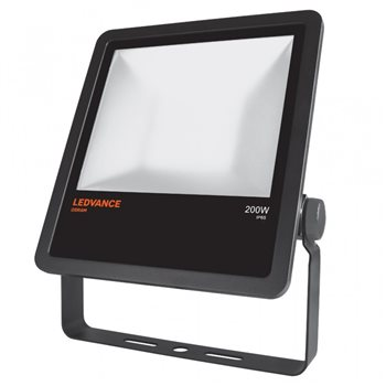 Osram Black LED Floodlight 200W 4000K IP65 Non Dim 4058075001190  - Click to view a larger image