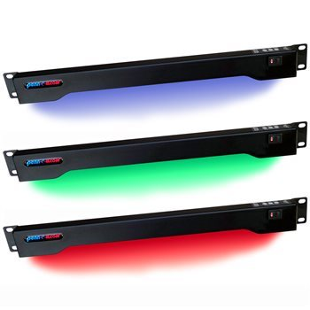 Penn Elcom 1U LED Rack Light Multi Colour RADM-23C
