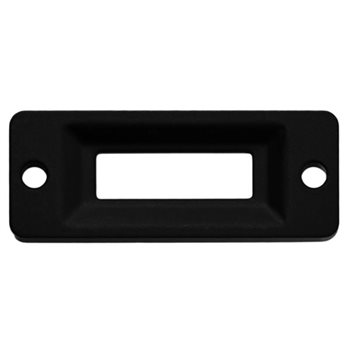 Penn Elcom CATCH PLATE BLACK L0965/CPK  - Click to view a larger image