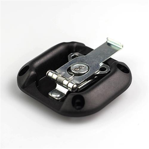 Penn Elcom Small Lightweight Overlatch Black ABS Dish Zinc Latch L2737K/50  - Click to view a larger image