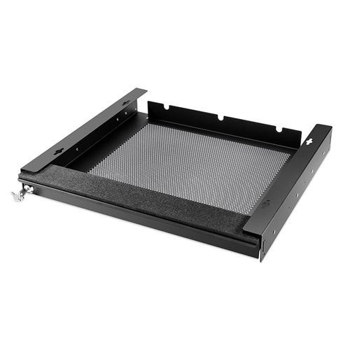 "Penn Elcom Laptop Security Drawer 450mm/17.72"" Black EX-6151B 1"