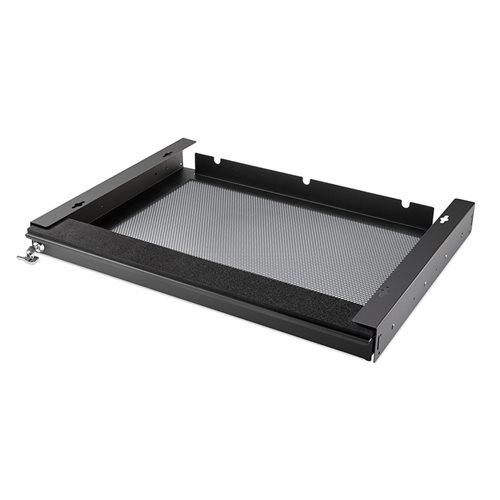 Penn Elcom Penn Elcom Abschließbares, belüftetes Laptop Schubfach, 550mm, Schwarz   - Klicken Sie hier, um ein größeres Bild zu sehen