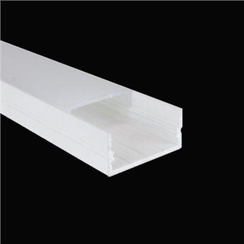 Penn Elcom 2m White Kit 20.6mm Wide Aluminium Profile LEDAL21M2W  - Click to view a larger image
