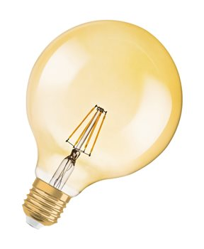 Osram Vintage Gold RF CLAS GL 54 7W/824 E27 Filament-style 2400K Dim 4052899972698  - Click to view a larger image