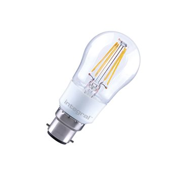 Integral Classic P 25 Dim 4.5W/27K BC Filament Omni Mini Globe Dimmable ILGOLFB22DC033  - Click to view a larger image