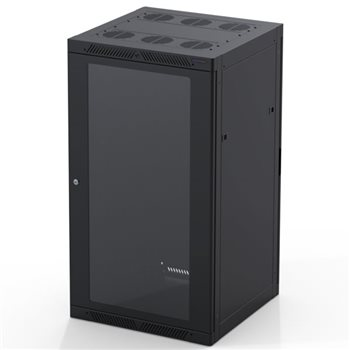 Penn Elcom 22U Rack Enclosure M6 Rail 600mm / 23.62in x 600mm / 23.62in R4066-22UK  - Click to view a larger image