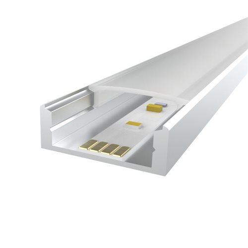 Penn Elcom 2m KIT Profilé pour Bande de LED Flex 18mm LEDAL31M2  - Cliquez pour agrandir limage