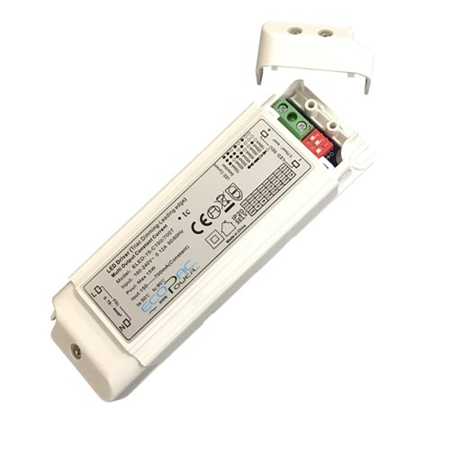Ecopac UK Led Driver 15W Multi-current ELED-15-C150/700T  - Click to view a larger image