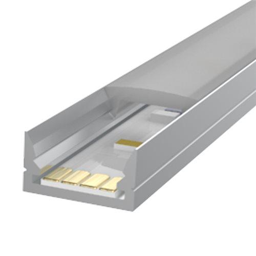 Penn Elcom 1m KIT Profilé Très Plat 12mm en Aluminium LEDAL35  - Cliquez pour agrandir limage