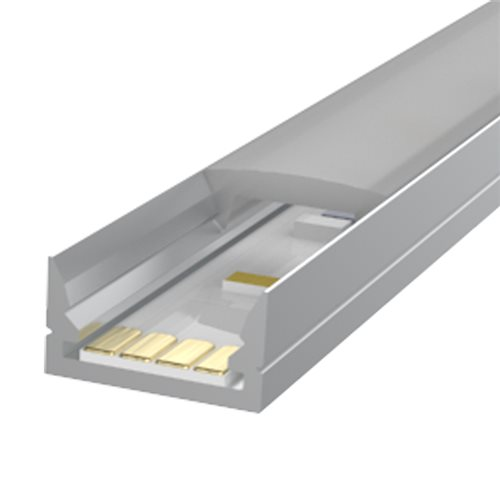 Penn Elcom 2m Kit 12mm wide Very Slim Shallow Profile LEDAL35M2  - Click to view a larger image