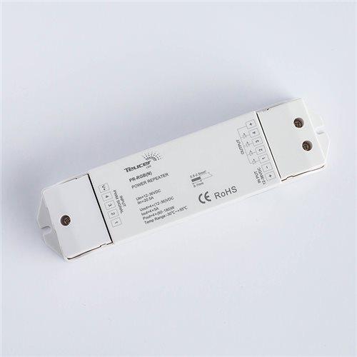 Teucer Led 4Ch Rf Signal Repeater PR-RGB(N)  - Cliquez pour agrandir limage