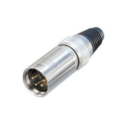 Neutrik XLR 4 Pin Heavy Duty Cable Connector Male NC4MX-HD